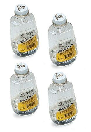 PASCO 118 ml ulei mineral, în sticlă (4 buc)