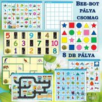 Set de 8 trasee pentru Bee-Bot