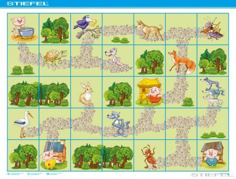 Traseu BEE-BOT Povești cu animale