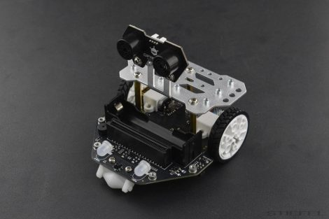 micro: robot programabil Maqueen Plus pentru microcontroler micro: bit