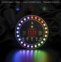 micro:placă rotundă de expansiuneRGB LED