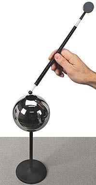 Generatoare de sarcini  PASCO și tablă cu mânere izolante