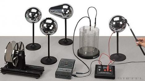 PASCO Kit electrostatic de bază