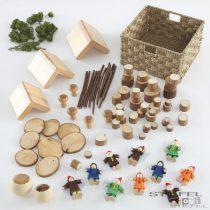Small World Set de constructor de sate de zane