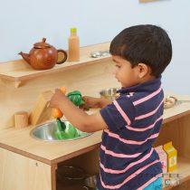 Bucătărie de lemn pentru joc de rol