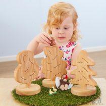 Jucării din lemn Lumea mică