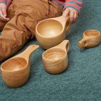 Cupe din lemn, de mai multe dimensiuni