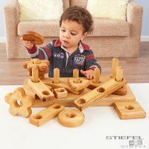 Set de construcție din lemn