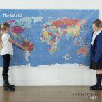 Bee-Bot harta lumii (pentru interior,DE BIROU)