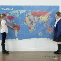 Bee-Bot harta lumii (pentru interior, MIJLOCIE)