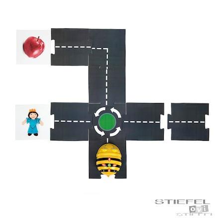 Secțiuni de drum pentru Bee-Bot