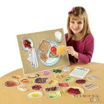 Alimente sănătoase - set magnetic
