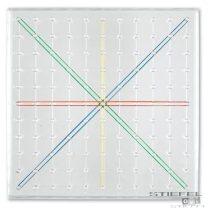 Tablă transparentă de geometrie