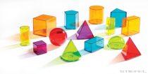 Forme geometrice din plastic transparent