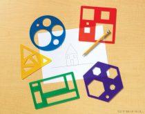 Șablon de formă geometrică