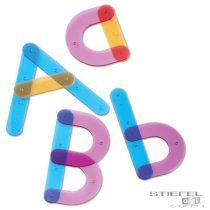 Set de asamblare a literelor- cu cărți