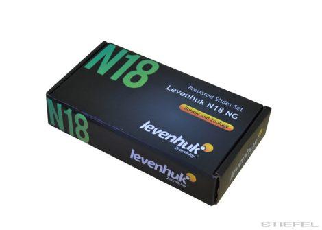 Levenhuk N18 NG set pregătit de diapozitive