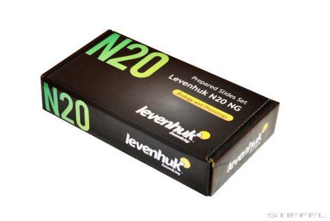 Levenhuk N20 NG set pregătit de diapozitive