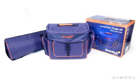 Levenhuk Zongo 60 geantă de transportare pentru telescop, mică, albastră