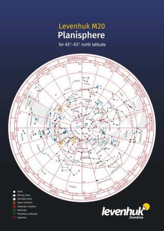 Levenhuk M20 planisferă mare