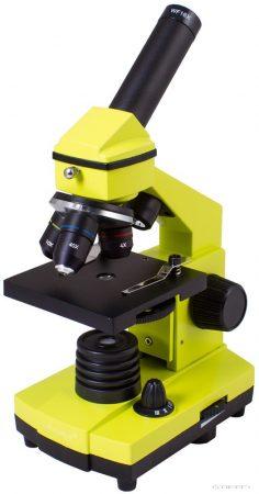 Levenhuk Rainbow 2L PLUS Microscop Lime