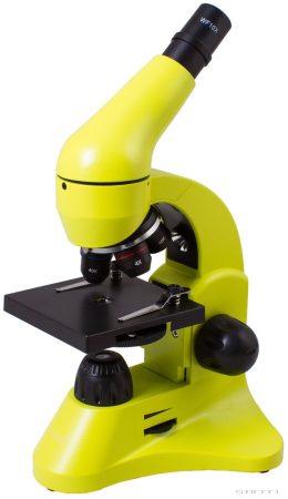 Levenhuk Rainbow 50L  Microscop Lime