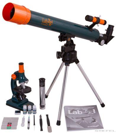 Levenhuk LabZZ MT2 set microscop și telescop