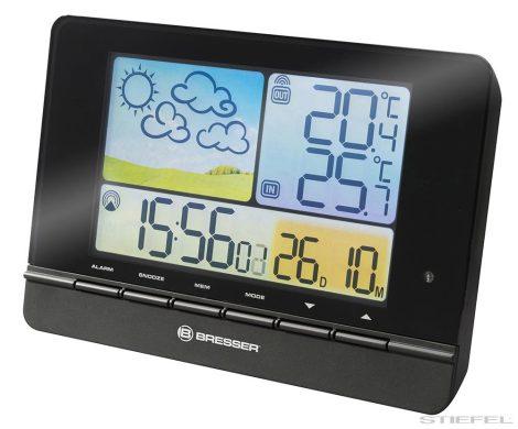 Bresser MeteoTrend Colour RC stație meteorologică, neagră