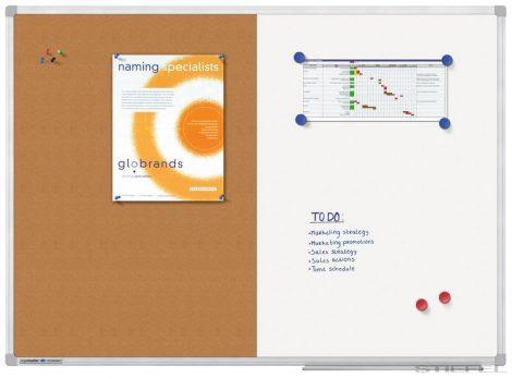 Tablă combinată Legamaster ECONOMY 60x90 cm