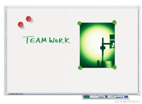 Tablă albă magnetică Legamaster Economy (whiteboard) 45x60 cm (mai multe dimensiuni)