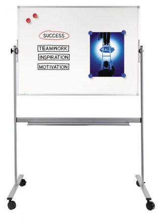 Tablă albă magnetică, rotativă Legamaster ECONOMY (whiteboard) 90x120 cm