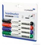 Marker pentru tablă Legamaster TZ 100, 4 culori