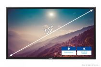 Afișaj LCD interactiv Legamaster (ecran electronic) ETX-5520 UHD negru NOU!