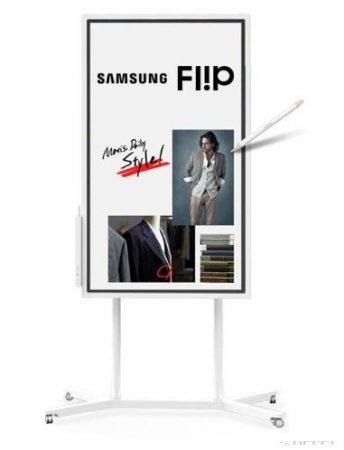 "Flipchart interactiv Samsung Flip 55 ""(rotativ)"
