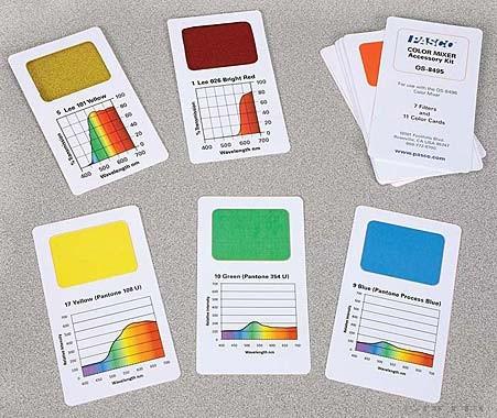PASCO Set de accesorii pentru amestecarea culorilor