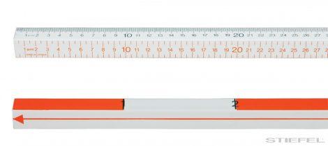PASCOBară de măsurare cu 4 tipuri de scări