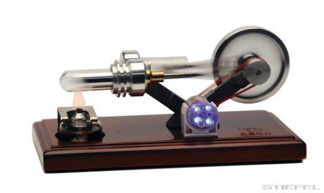 PASCO Motor Stirling din sticlă (motor cu aer cald)