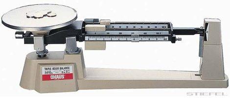 PASCO Scală mecanică Ohaus cu trei bare (cu funcție Tare) 610 / 0,1 g