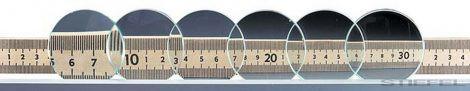 PASCO Lentile  rotunjite de sticlă (6 buc)