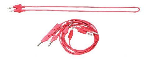 PASCO Cablu de măsurare de tip banană - roșu 5buc