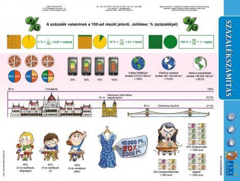 Százalékszámítás kétoldalas fixi munkalap- Calcularea procentelor/ cu pagină de lucru